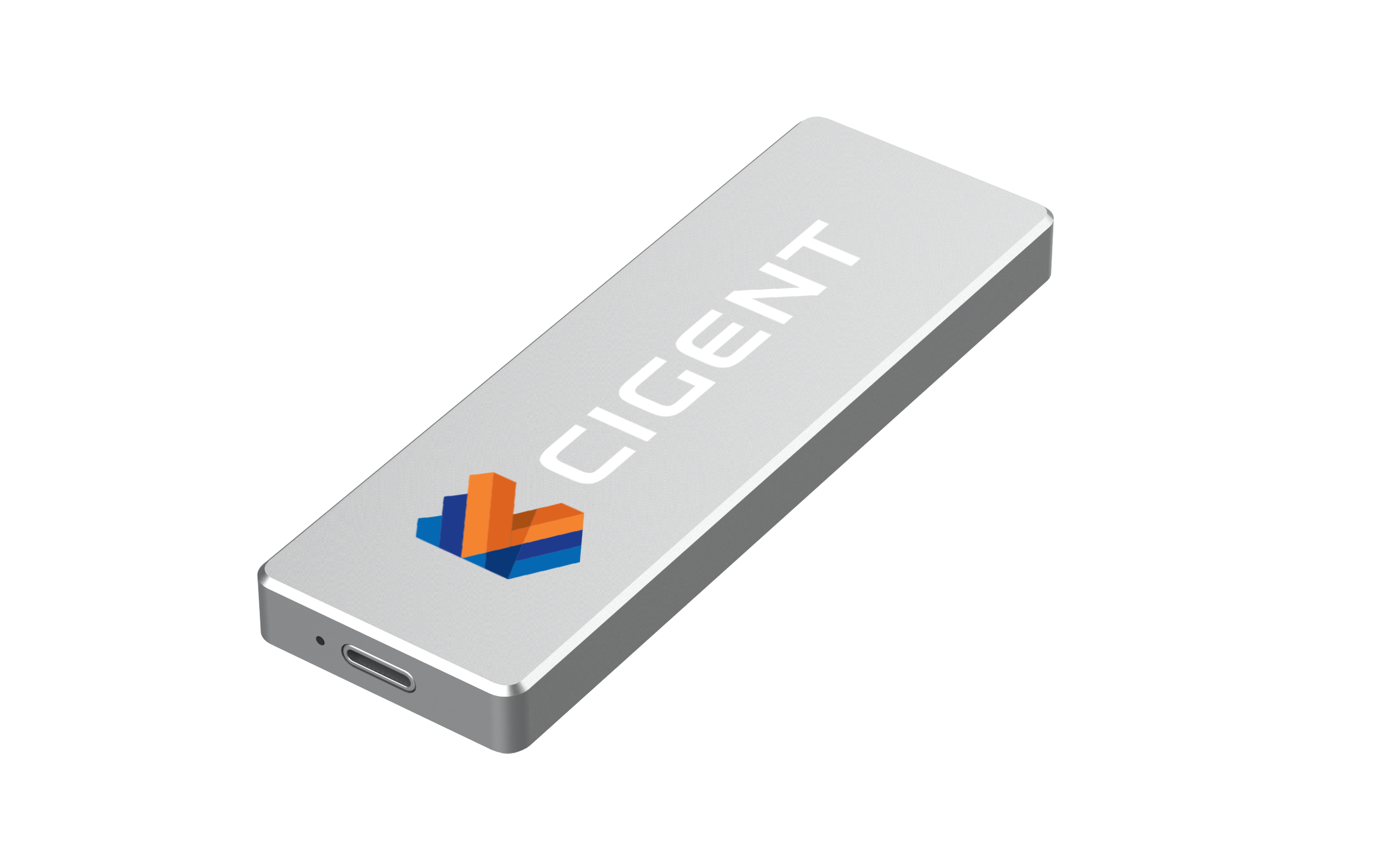 Cigent Secure SSD K2 External Storage